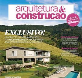 OCTOBER - 2015 - REVISTA ARQUITETURA & CONSTRUÇÃO