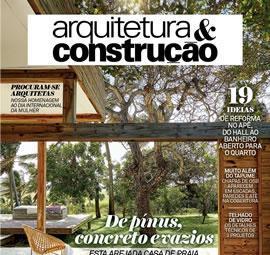 MARCH - 2016 - REVISTA ARQUITETURA & CONSTRUÇÃO